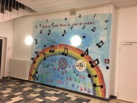 Mosaik - Kunst und Musik verbindet
