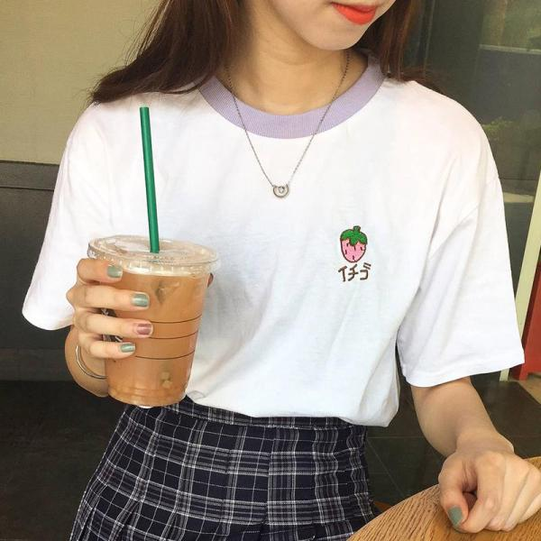 T-shirt fruits frais fraise