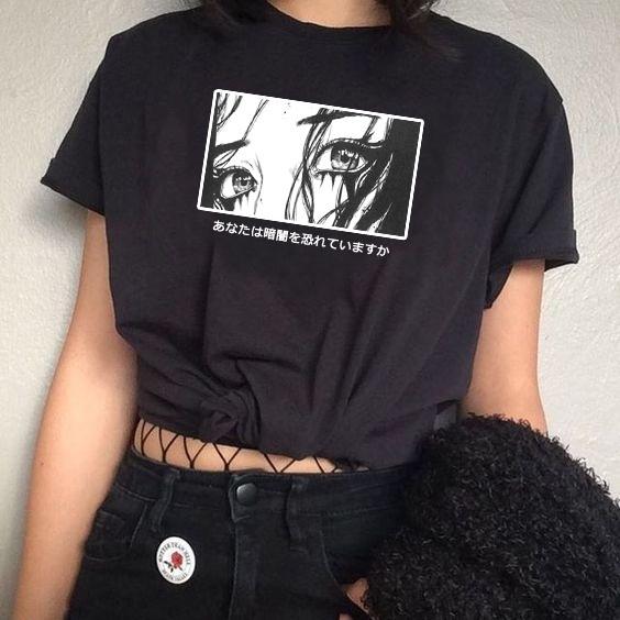 T-shirt japonais la peur japonaise