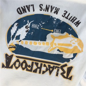 Loho T-shirt grunge Blackfoot