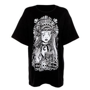 T-shirt Relique style goth