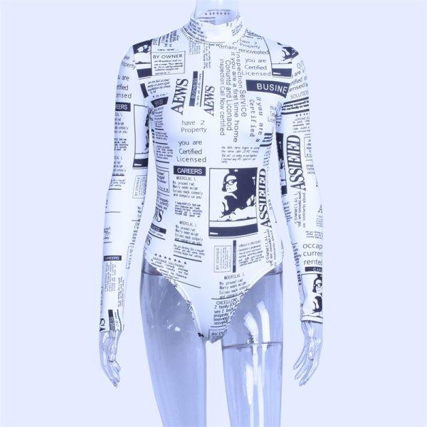 Body aesthetic journaux vue de face