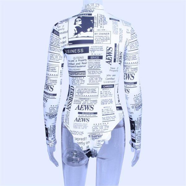 Body aesthetic journaux vue de dos
