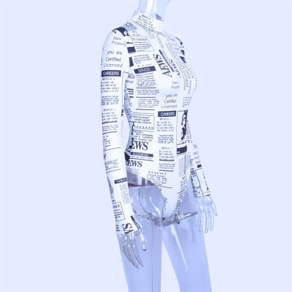 Body aesthetic journaux vue de profil