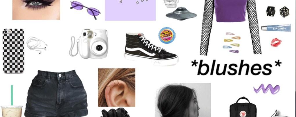Les vêtements et accessoires du style e-girl