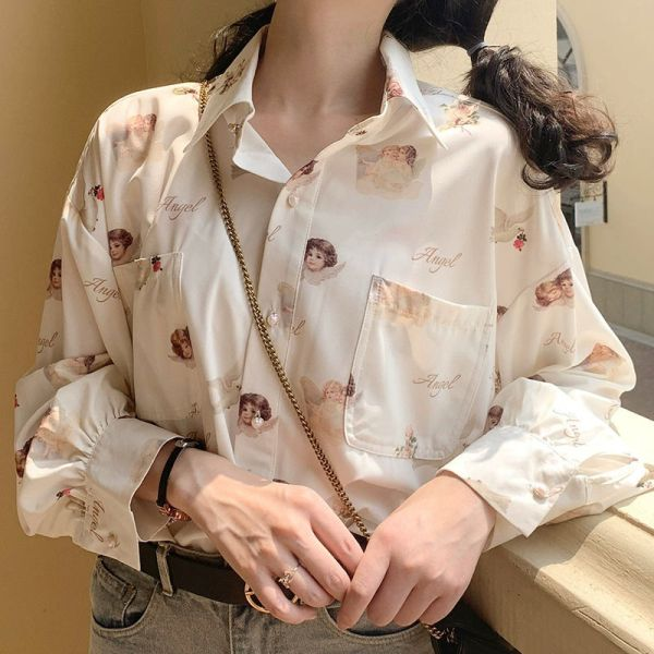 Chemise aesthetics - Anges et colombes