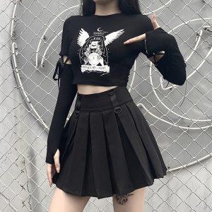 T-shirt manches longues gothique - Memento