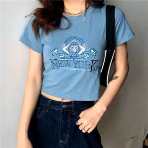 T-shirt tumblr girl - New York