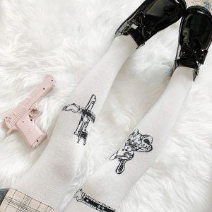 Chaussettes hautes - Grunge style