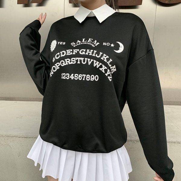 Pull gothique - Ouija