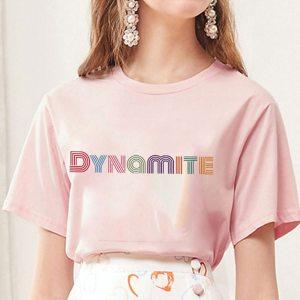 T-shirt kpop - Dynamite