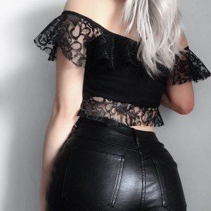 Haut épaules dénudées - Gothique