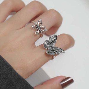 Bague aesthetic - Papillon
