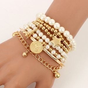 Bracelet postbad - Gold
