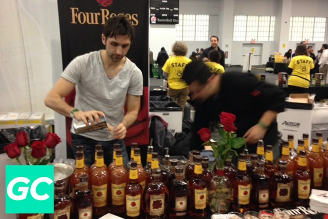 Any whiskey aficionado would be crazy to pass up a taste of Four roses single barrel bourbon!