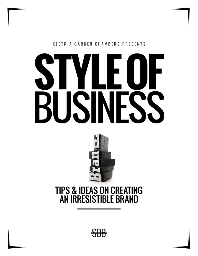 Review: A Style of Business Manual, written by Keetria