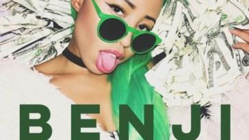 "Liana Bank$'s ""Benji"" cover art"