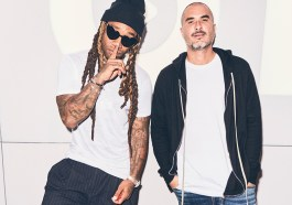 Ty Dolla $ign and Zane Lowe at Beats 1