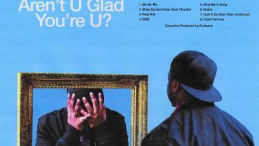 Domo Genesis' 'Aren't U Glad You're U?' cover art