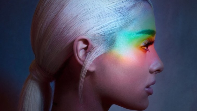 Ariana Grande's cover art for 'No Tears Left to Cry'