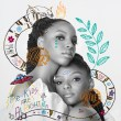 Chloe x Halle's cover art for 'The Kids Are Alright'
