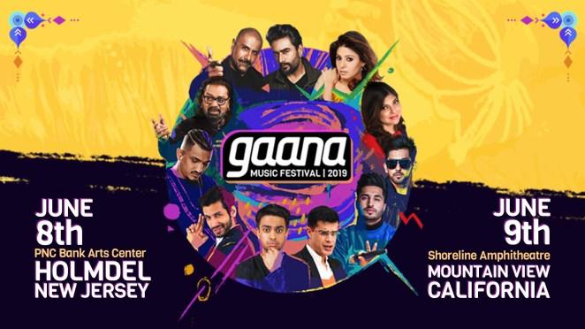 Gaana Music Festival banner