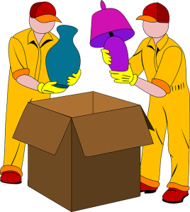 Movers packing, that is one of the benefits of hiring a moving and storage company