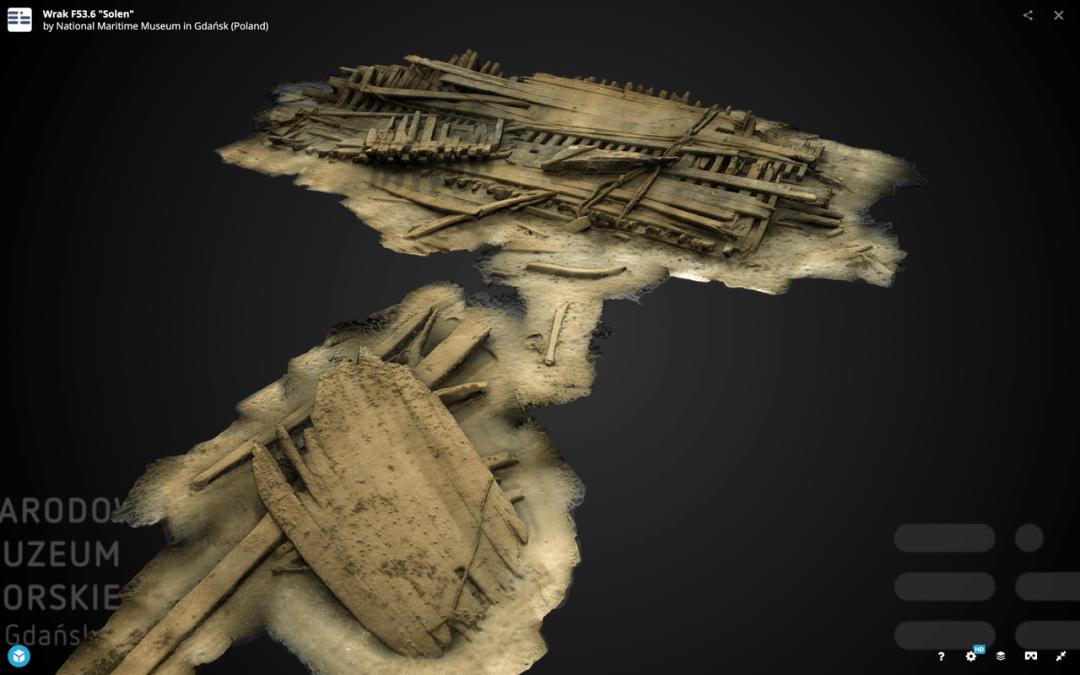 Narodowe Muzeum Morskie – fotogrametria imodele 3D