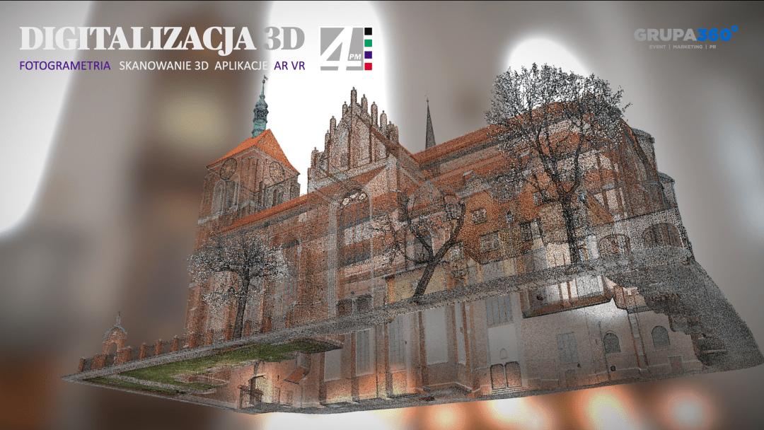 Digitalizacja obiektu wraz zhistorycznym wyposażeniem – skanowanie, aplikacja AR, kolekcja www, fotogrametria imodele 3D