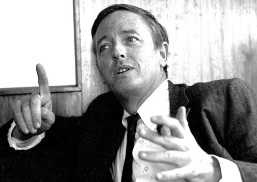 William F. Buckley Jr. în tinereţe