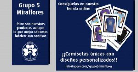 Camisetas Grupo 5 Miraflores