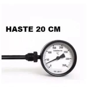 Termômetro Lateral Aço Carbono – 200mm