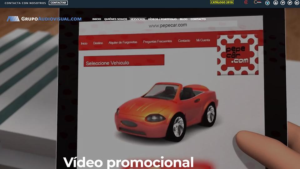 Vídeo promocional Servicio GrupoAudiovisual