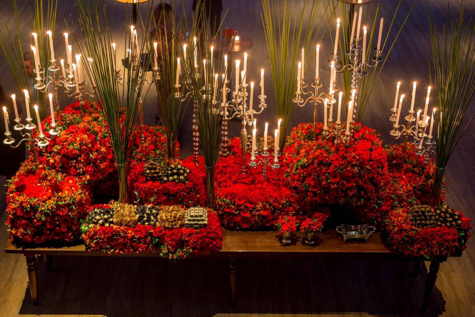 Decoração Vermelha: Inspirações para seu Casamento!
