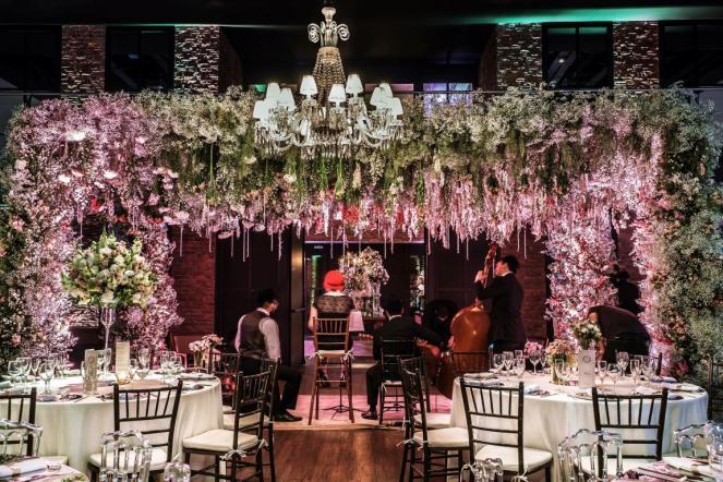 decoração do buffet para casamento