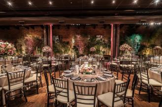 Mesas e decoração de casamento