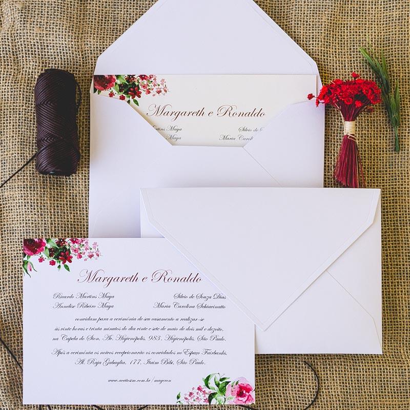 Como escrever o nome dos convidados no convite?