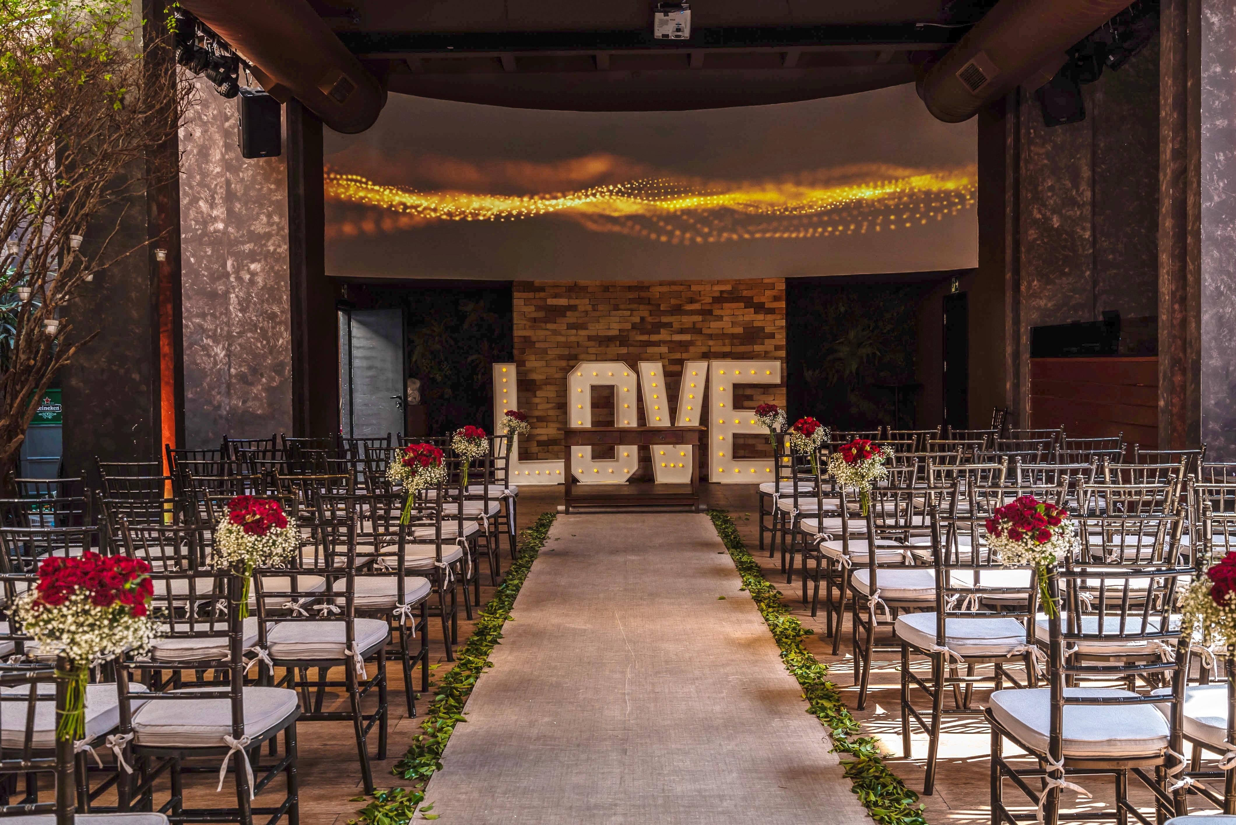 Decoração: Cerimônia x Festa de Casamento