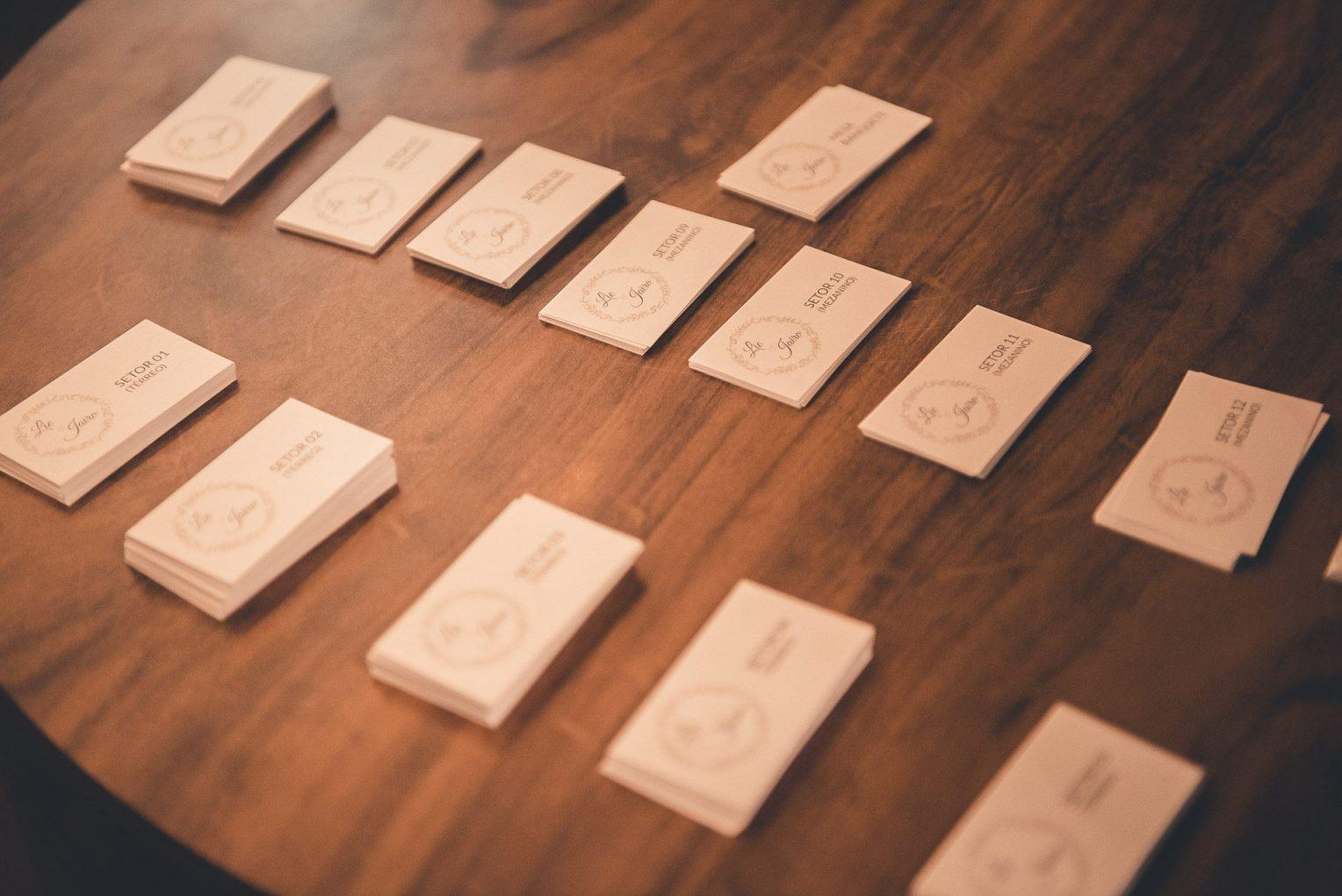 Como organizar as mesas do seu Casamento?