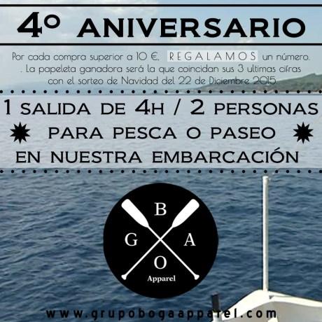 4 Aniversario Boga Apparel