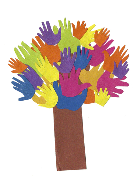 arbol de manos