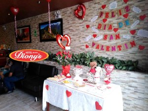 San Valentín en Hotel Dionys