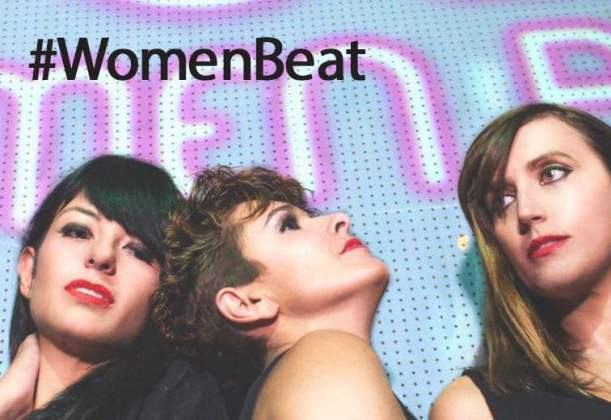 women-beat
