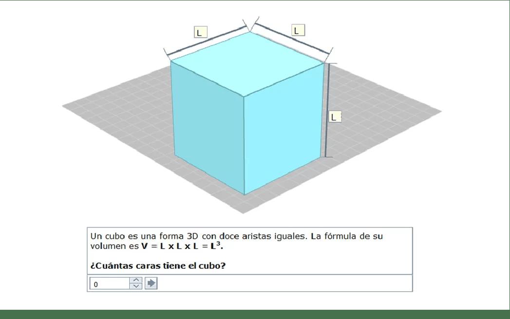 Formas 3D para explicaciones y ejercicios más claros