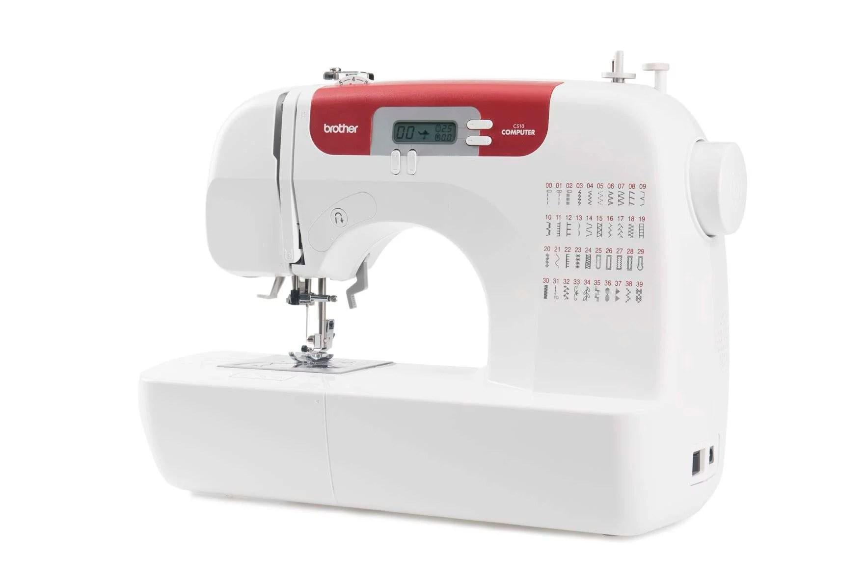 Máquina de coser electrónica BROTHER CS10 - Grupo FB