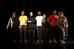 Equipe do Espetaculo MetaForMose _ Grupo Girino Teatro de Animação _ Foto Sabrina Valente