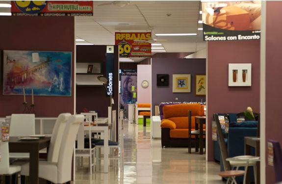 Tienda de muebles en Almera Hipermueblemuebles