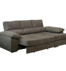 Chaiselongue Serie Bronce con cama extraíble