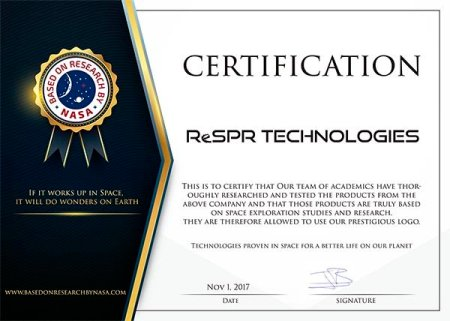 Certificacion NASA ReSPR GrupoHSA
