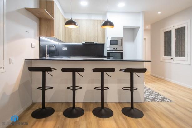 taburetes altos cocina